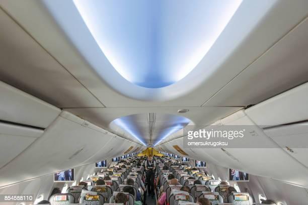 Pegasus jet airplanes interior view