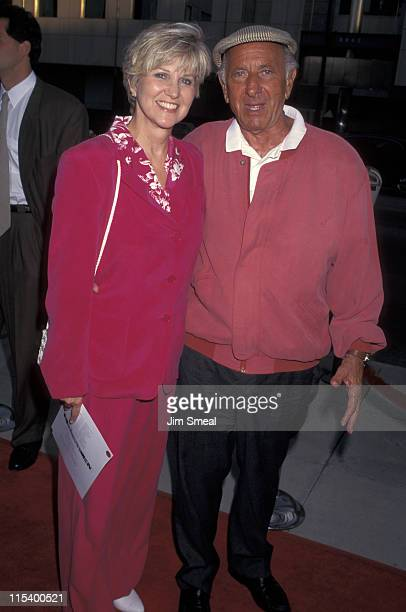 Peggy Crossi and Jack Klugman during Showtime's '12 Angry Men' Premiere Beverly Hills at Samuel Goldwyn Theater in Beverly Hills CA United States
