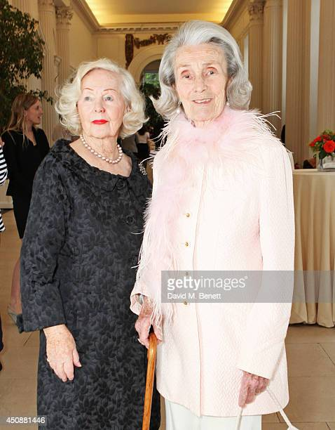 Peggy Cummins and Princess George Galitzine attend the drinks reception hosted by Dockers the San Francisco based apparel brand at Kensington Palace...