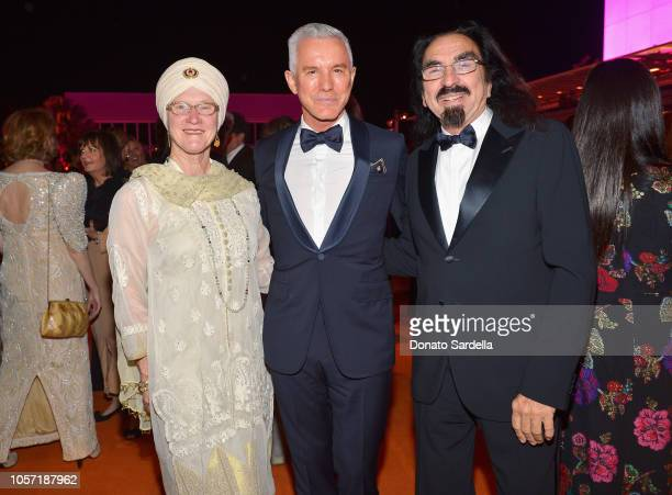 Peggy DiCaprio Baz Luhrmann wearing Gucci and George DiCaprio attend 2018 LACMA Art Film Gala honoring Catherine Opie and Guillermo del Toro...
