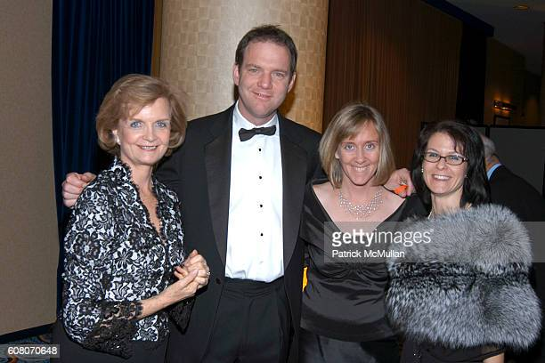Peggy Dowd Kevin Charlton Amy Thornton and Andrea O'Neil attend The SLE Lupus Foundation's Annual LIFE WITHOUT LUPUS Gala at Marriott Marquis on...