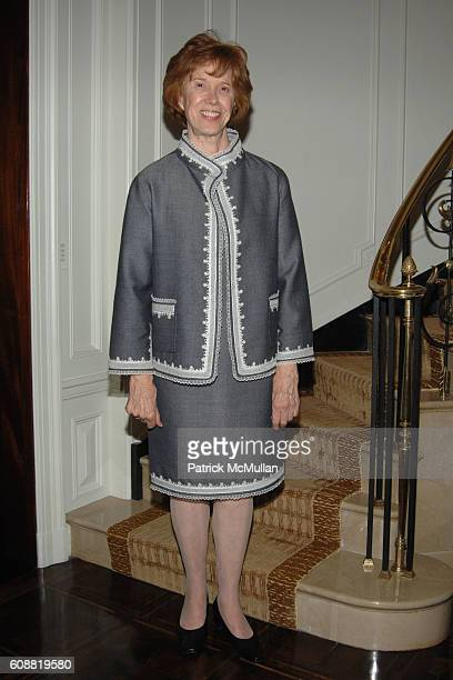 Peggy Flesher attends AMERICAN BALLET THEATRE'S Dinner with Dancers at The homes of Julia and David Koch on October 1 2007 in New York City