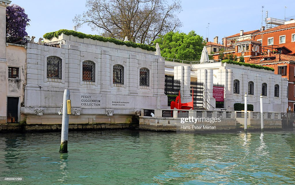 Peggy Guggenheim Collection, Venice, Italy : Stock Photo