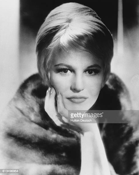 Peggy Lee the American singer actress composer and author