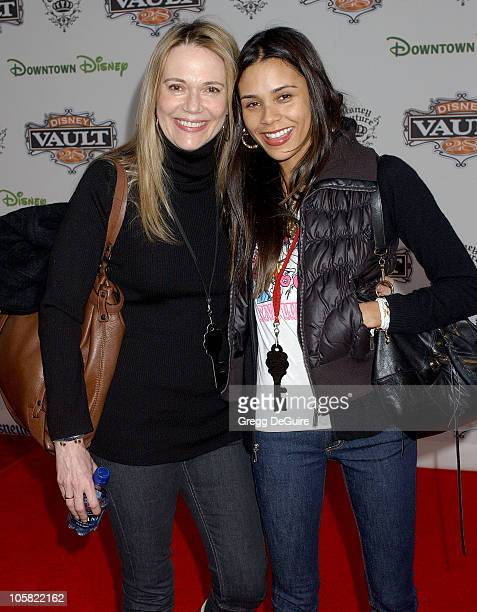 Peggy Lipton and daughter Kidada Jones during Opening of Disney Vault 28 Arrivals at Disney Vault 28 in Anaheim California United States