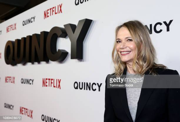 Peggy Lipton attends Netflix's Quincy Los Angeles Special Screening at Linwood Dunn Theater on September 14 2018 in Los Angeles California