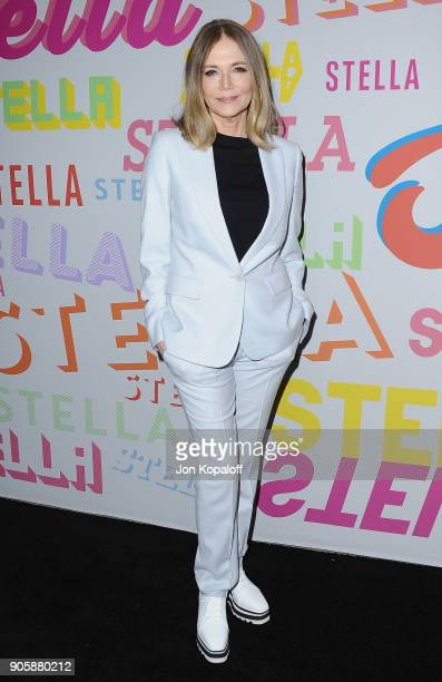 Peggy Lipton attends Stella McCartney's Autumn 2018 Collection Launch on January 16 2018 in Los Angeles California