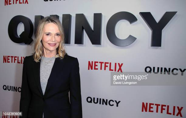 Peggy Lipton attends the premiere of Netflix's Quincy at Linwood Dunn Theater on September 14 2018 in Los Angeles California
