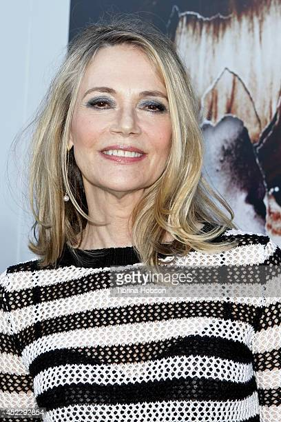 Peggy Lipton attends the 'Twin Peaks' BluRay/DVD release party and screening at the Vista Theatre on July 16 2014 in Los Angeles California