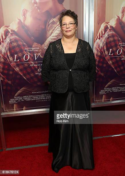 Peggy Loving Fortune attends the New York Premiere of Loving at Landmark Sunshine Theater on October 26 2016 in New York City