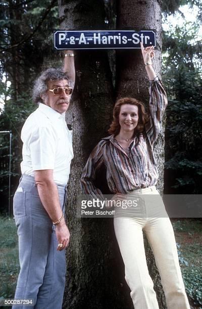 Peggy March Ehemann Arnie Harris Homestory am in München Deutschland