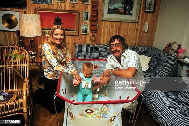 Peggy March mit Ehemann Arnie Harris undTochter Sande Ann Homestory