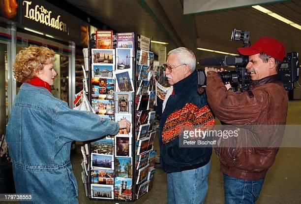 Peggy March mit Ehemann Arnie HarrisKameramann MünchenStadtbummel Postkarten