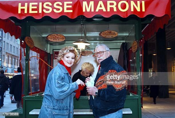 Peggy March mit Ehemann Arnie HarrisMünchen StadtbummelFußgängerzone