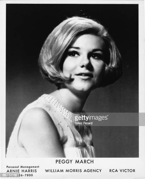 Peggy March studio portrait United States 1965