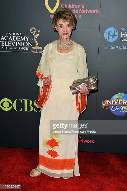 Peggy McCay arrives at 38th Annual Daytime Entertainment Emmy Awards For Soap Opera Weekly on June 19 2011 in Las Vegas Nevada