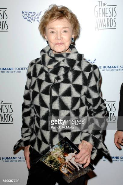 Peggy McCay attends The 24th Genesis Awards at Beverly Hilton Hotel on March 20 2010 in Beverly Hills California