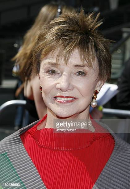 Peggy McCay during 34th Annual Daytime Emmy Awards Arrivals at Kodak Theater in Hollywood California United States