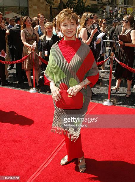 Peggy McCay during 34th Annual Daytime Emmy Awards Red Carpet at Kodak Theatre in Hollywood California United States