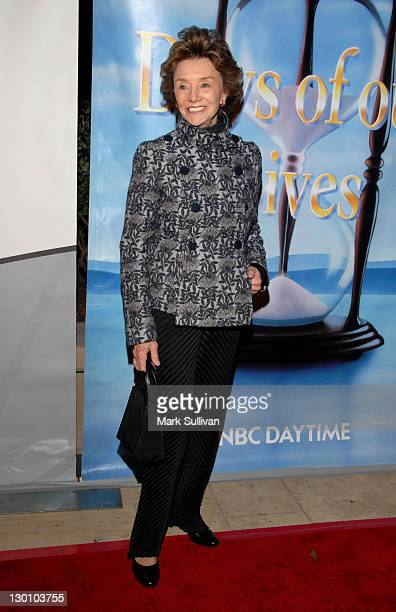 Peggy McCay during NBC's Daytime Dramas 'Days of Our Lives' and 'Passions' Pre Emmy Party at French 75 Bistro in Burbank California United States