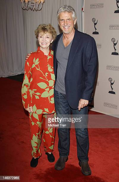Peggy McKay and Michael Swan arrive at 39th Daytime Entertainment Emmy Awards nominees reception held at SLS Hotel on June 14 2012 in Beverly Hills...