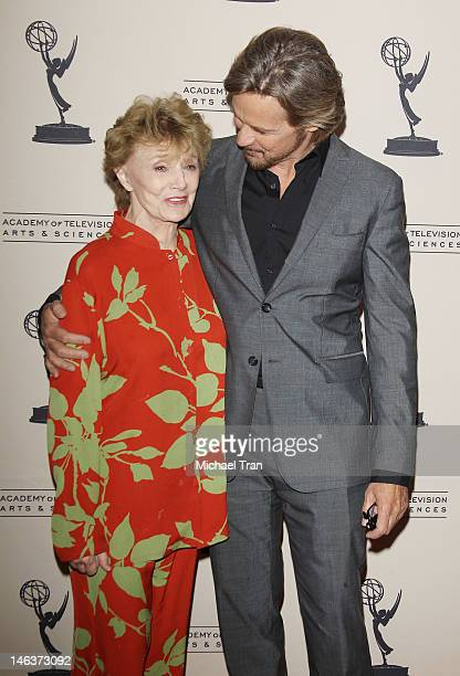 Peggy McKay and Stephen Nichols arrive at 39th Daytime Entertainment Emmy Awards nominees reception held at SLS Hotel on June 14 2012 in Beverly...
