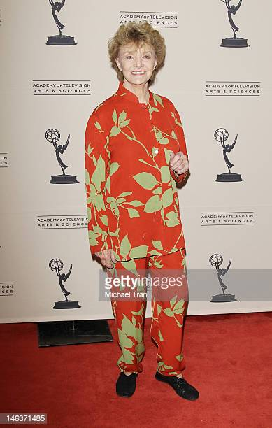 Peggy McKay arrives at 39th Daytime Entertainment Emmy Awards nominees reception held at SLS Hotel on June 14 2012 in Beverly Hills California