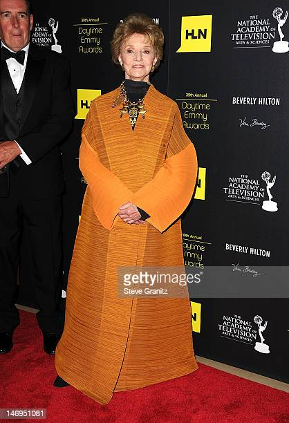 Peggy McKay attends 39th Annual Daytime Emmy Awards at The Beverly Hilton Hotel on June 23 2012 in Beverly Hills California