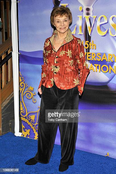 Peggy McKay poses for a picture at the 'Days Of Our Lives' 45th Anniversary Party held at The House Of Blues on November 6 2010 in West Hollywood...