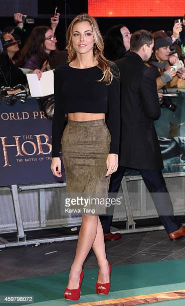 Peggy Nesbitt attends the World Premiere of The Hobbit The Battle OF The Five Armies at Odeon Leicester Square on December 1 2014 in London England