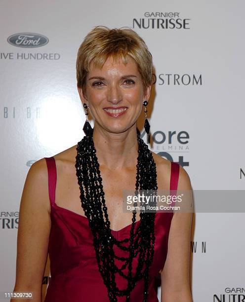 Peggy Northrop during The Winners of the 6th Annual More Magazine Wilhelmina 40 Model Search at Cipriani in New York City New York United States