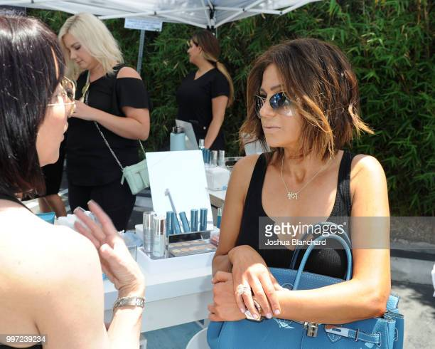 Peggy Sulahian attends the HydraFacial World Tour Los Angeles on July 12 2018 in Venice California