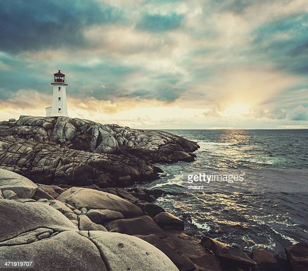 Peggy's Cove in Autumn Light