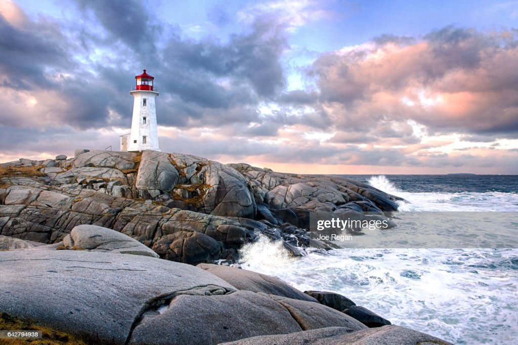 Peggy's Cove Lighthouse : Stock Photo