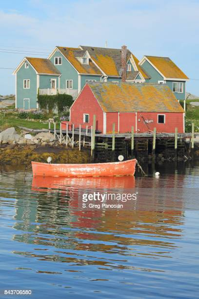 peggy's cove - nova scotia - fishing village stock pictures, royalty-free photos & images