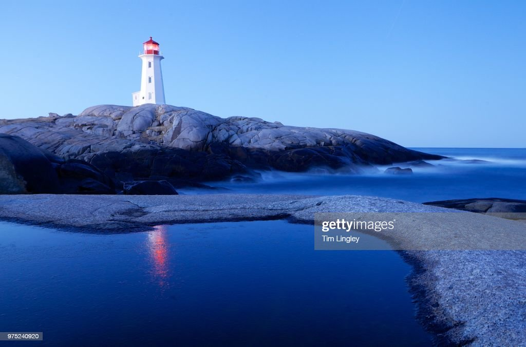 Peggy's Cove Pool : Stock Photo