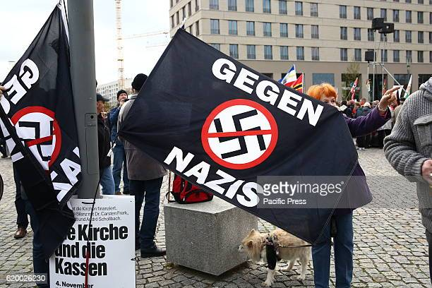 Pegida antigovernmental and antiislam civil movement held protest against recent governmental decisions Thousands gathered around the centre of...