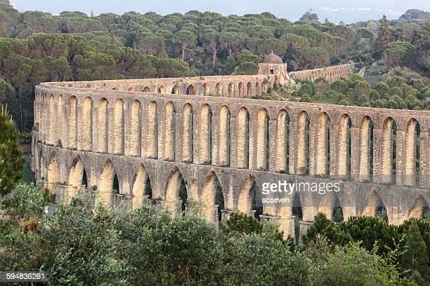 Pegoes Aqueduct , Tomar, Portugal