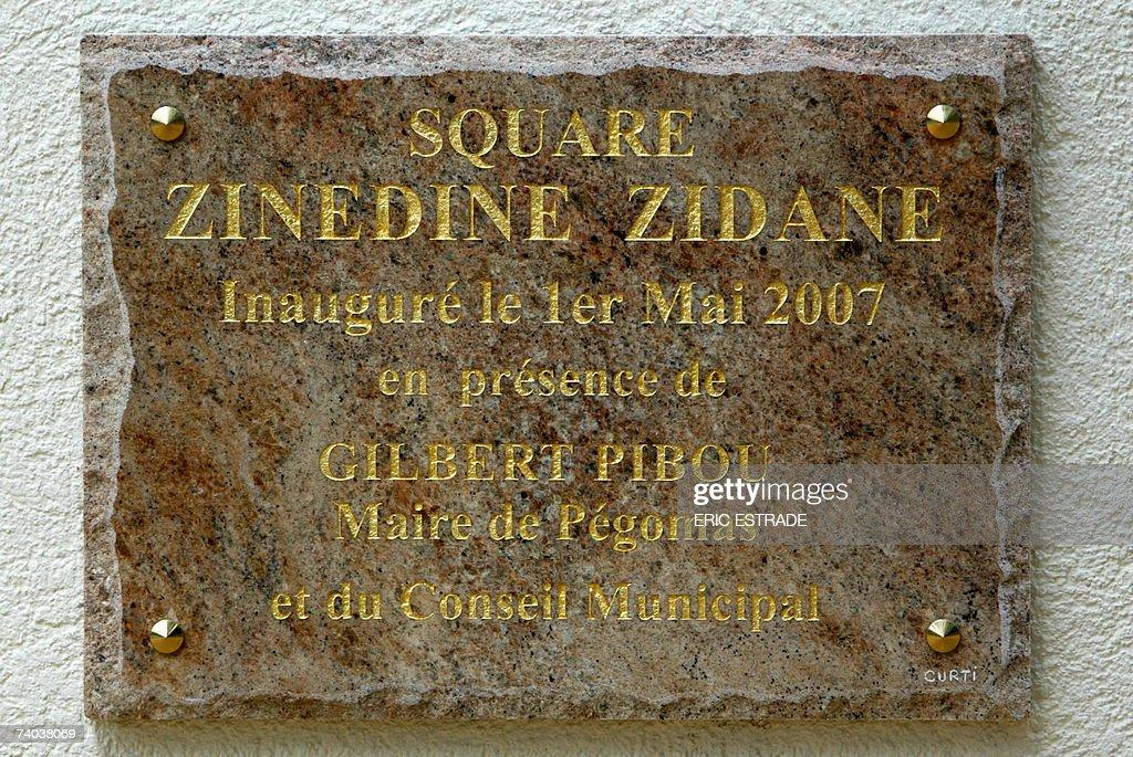 """Résultat de recherche d'images pour """"zinedine zidane Pegomas"""""""