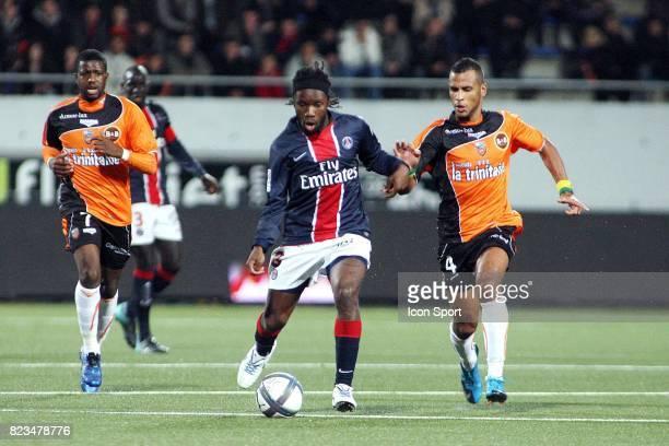 Peguy LUYINDULA / Alaixys ROMAO Lorient / Paris Saint Germain 13e journee Ligue 1