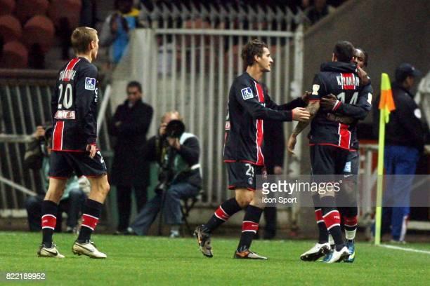 Peguy LUYINDULA / Mateja KEZMAN PSG / Nancy Coupe de la Ligue 2008/2009