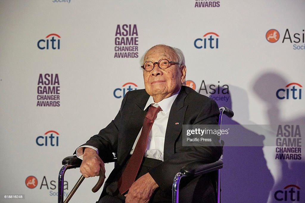 I.M. Pei Lifetime Achievement Awardee during the Asia Game... : News Photo