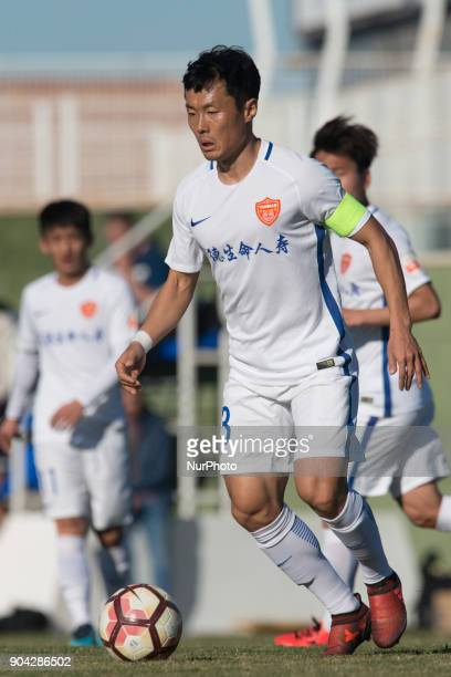 Pei Yuwen during the friendly match between Royal Charleroi SC vsYanbian Funde FC at Pinatar Arena Murcia SPAIN 10th January of 2018