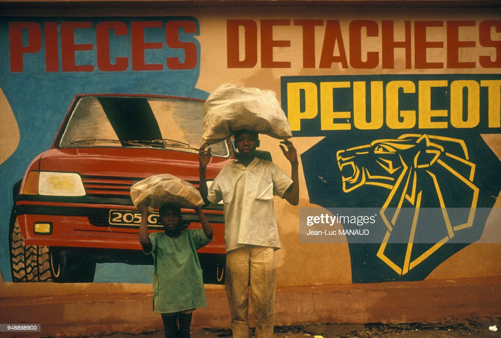 Peinture Murale A Bamako : News Photo