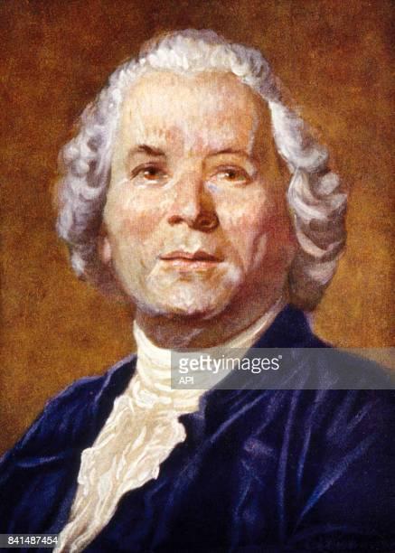 Peinture représentant le compositeur allemand Christoph Willibald Gluck