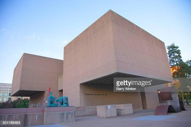 I.M. Pei's cast-concrete Everson Museum, Syracuse