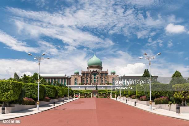 pejabat timbalan perdana menteri, malaysia - putrajaya stock pictures, royalty-free photos & images