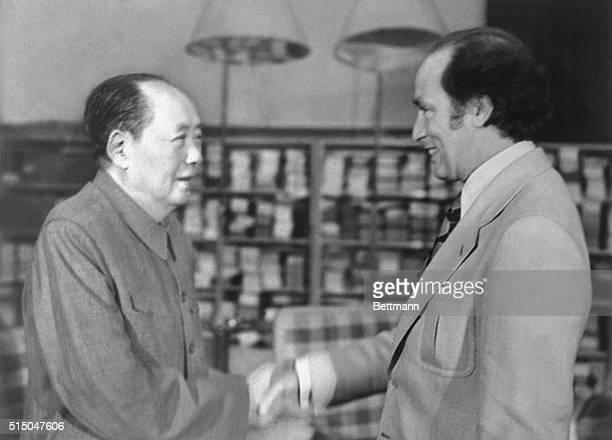 Chairman Mao TseTung Meets Canadian Prime Minister Trudeau Chairman Mao TseTung met with Canadian Prime Minister Pierre Elliott Trudeau at...