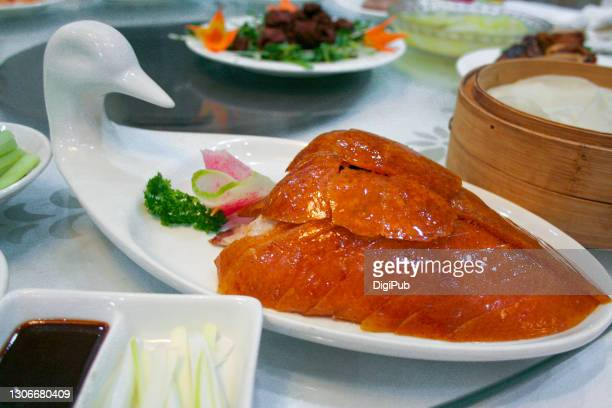 peking duck, crispy cuts - 2007 stock pictures, royalty-free photos & images