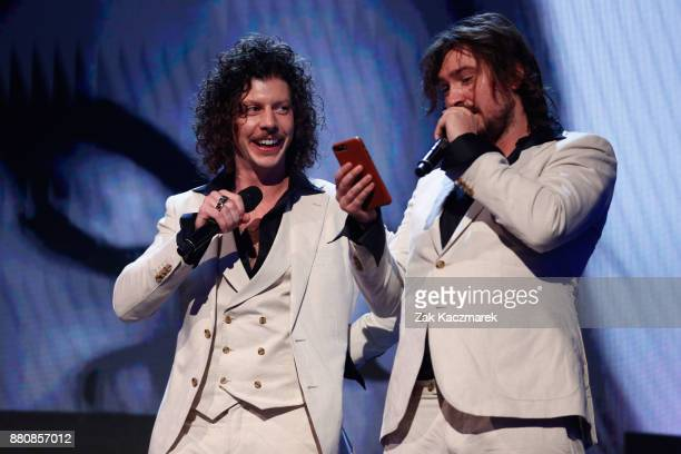 Peking Duk accept the ARIA for Song of The Year during the 31st Annual ARIA Awards 2017 at The Star on November 28 2017 in Sydney Australia